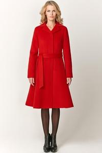 Зимнее пальто с расклешенной юбкой арт.303